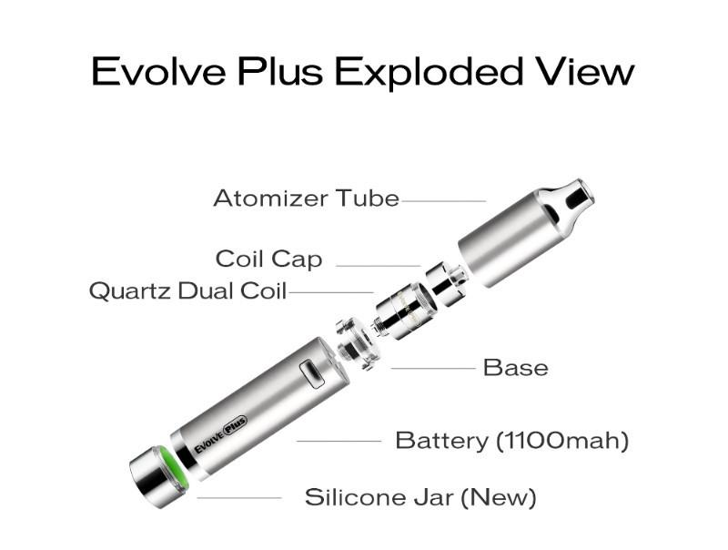 Evolve PLUS Quartz Dual Coil Vaporizer