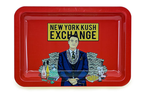 New York Exchange Metal Tray