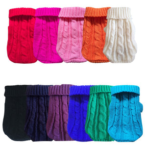 Pet Clothes Knitted Sweater
