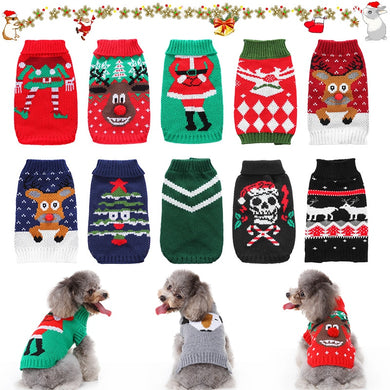 Pet Christmas Sweaters