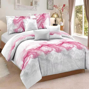 3pc Abstract Art Bedding Duvet Cover Sets