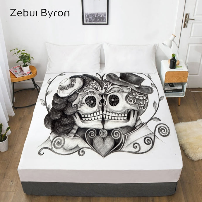 Day of the dead Mattress Cover