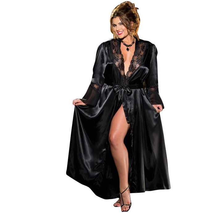 Satin Bathrobe