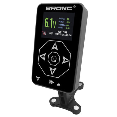 BRONC Tattoo Power Supply Touch Screen Digital LCD