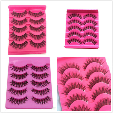 3 Pairs Handmade artistic False Eyelashes