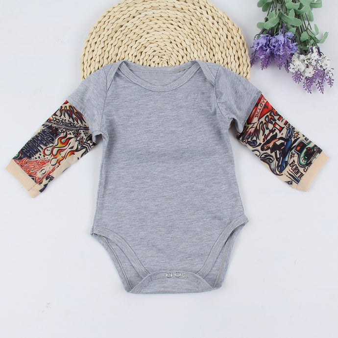 Baby's sleeve jumpsuit Mens and Ladies