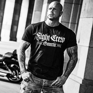 Mens T Shirts Fight Crew Streetwear