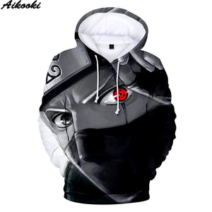 Mens Anime Hooded sweatshirt