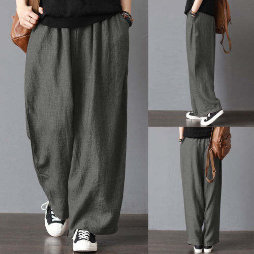 Men's Casual Loose Wide Legged Pants