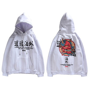 Mens 'Chinese Ghost' Hooded sweatshirt