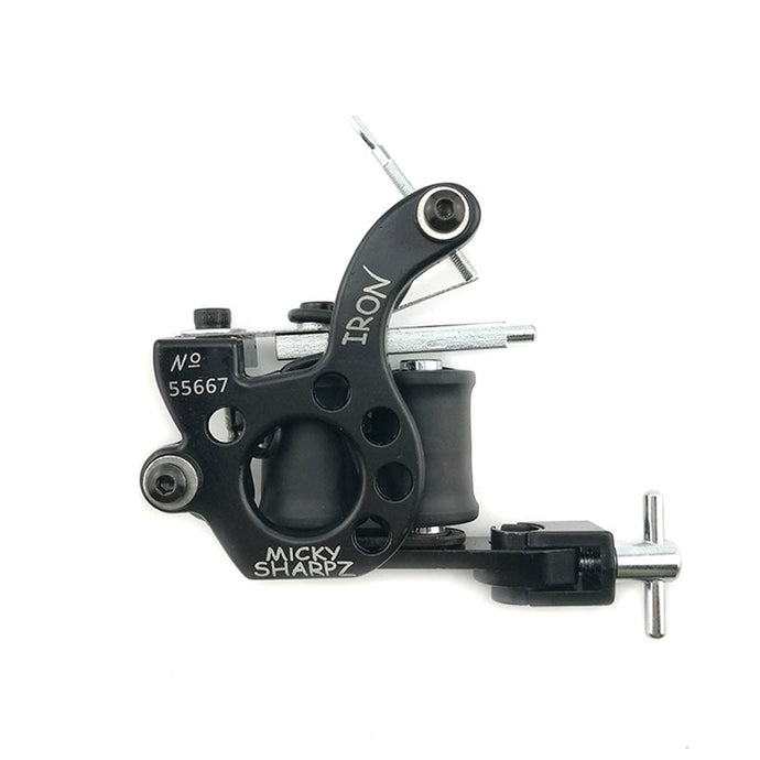 Micky Sharpz Tattoo Machine. 10 wrap coils.