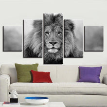 5pc Lion Panel ArtWork