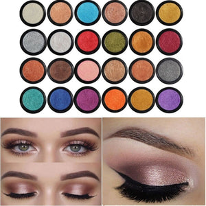 Ladies Eyeshadow Eye Glitter and Shimmer Set with 24 Colors
