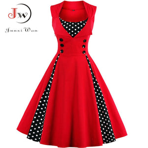Vintage Rockabilly Party Dresses