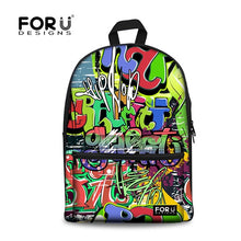 Mens and Ladies graffiti BackPacks