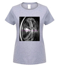 Mens and Ladies 'wire wheel' T-Shirt