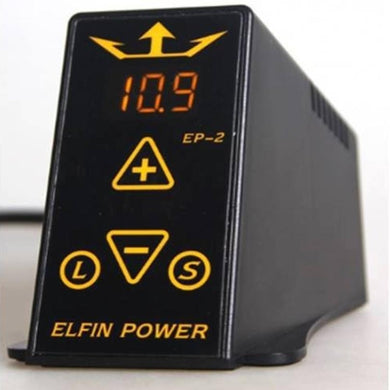 ELFIN Power EP-2 Digital LCD Tattoo Power Supply