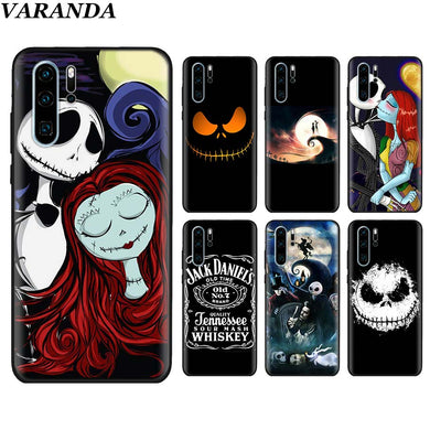 Artistic Nightmare Before Christmas for Huawei P30 P30 Pro P10 P20 Lite P Smart View 20 Soft Silicone cover
