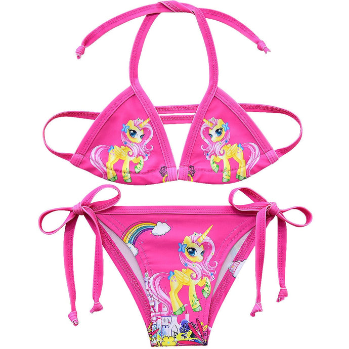 Girls swimsuits two-pieces bikini 3-10y Ladies