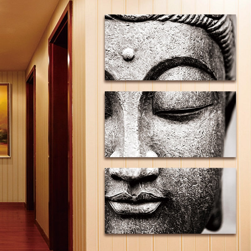 Canvas painting Buddha artwork