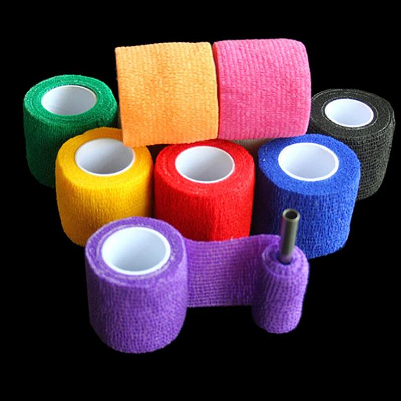 50 pcs Disposable Tattoo Elastic Bandage