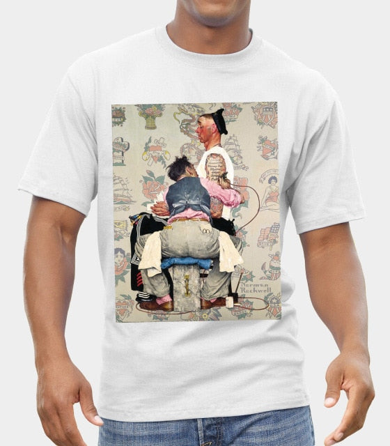 Norman Rockwell t-shirt