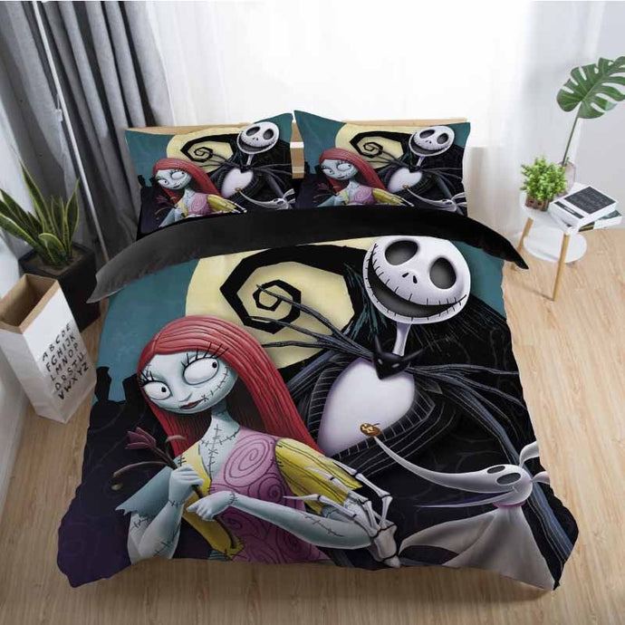 Artistic Nightmare Before Christmas Bedding Sets