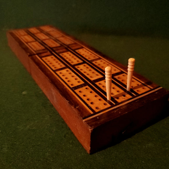 Victorian Cribbage Board