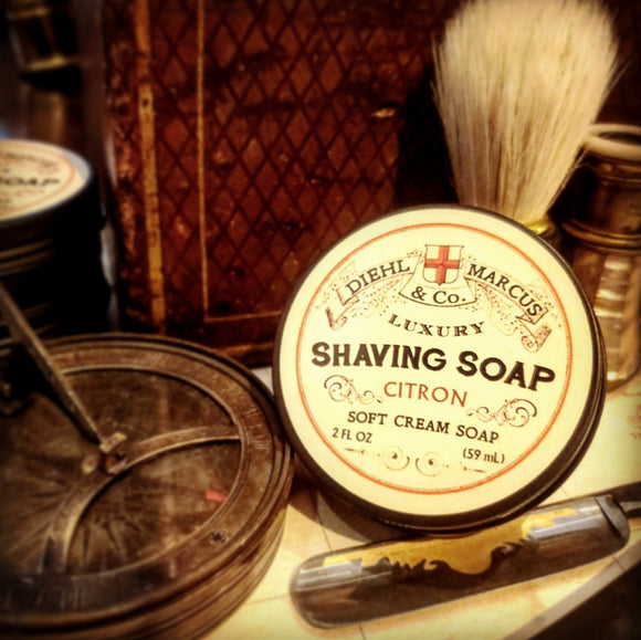 Citron Shave Soap - 2oz.