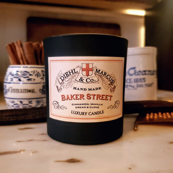 Baker Street Luxury Candle