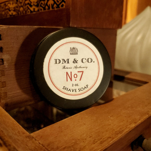 No. 7 Shave Soap - 2oz.