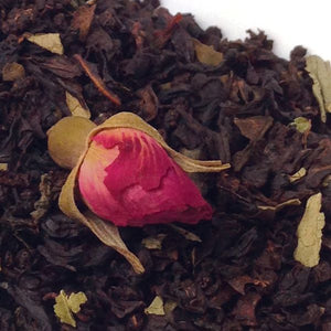 Black Vanilla Rose Tea