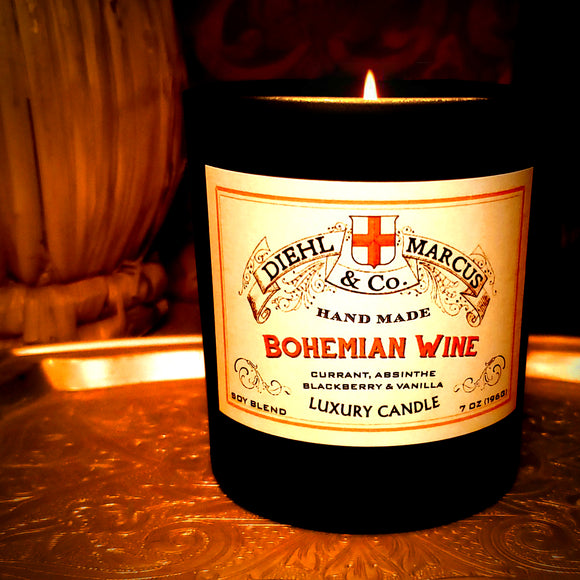 Bohemian Wine Luxury Candle