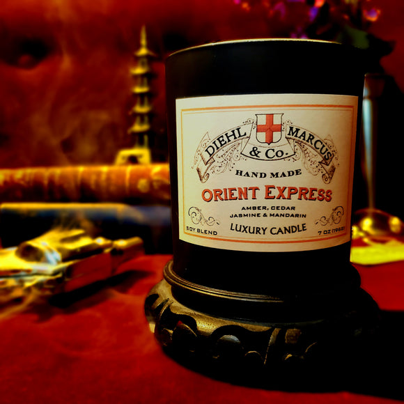 Orient Express Luxury Candle (ReStock ETA: 03/15/21)