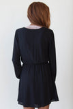 Black Dress with Neck Tie - Eliza Ash Boutique
