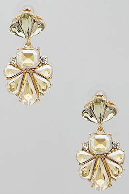 Floral Jewel Earrings - Eliza Ash Boutique