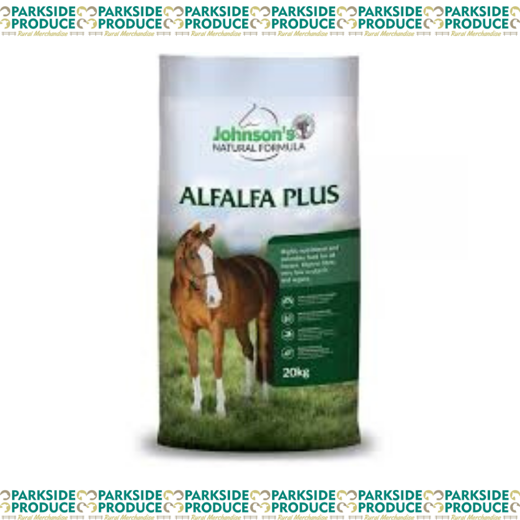 Johnsons Alfalfa Plus 20kg **