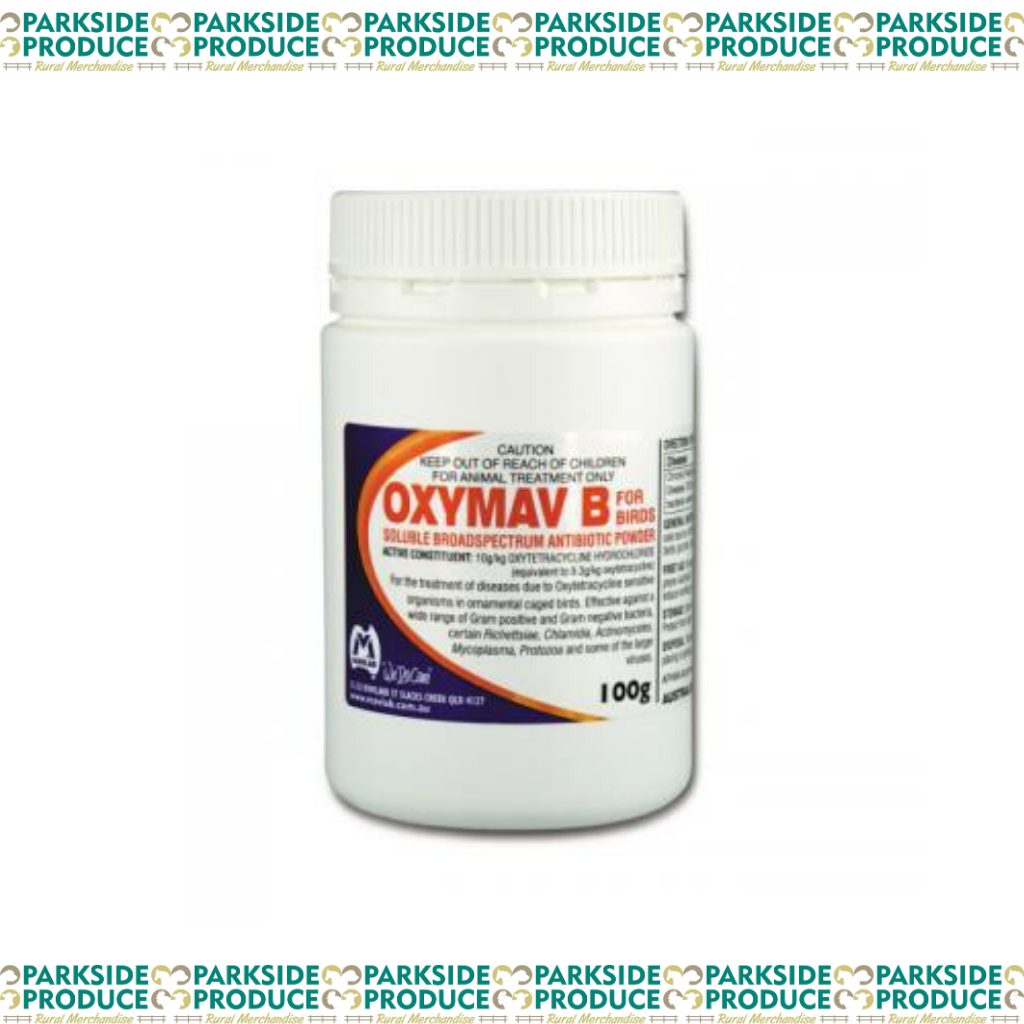 Oxymav B Bird Powder 100g