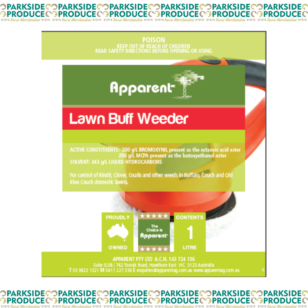 Apparent Lawn Buff Weeder 1lt