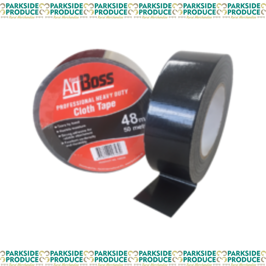 Black Cloth (Gaffa) Tape 48mm x 50m