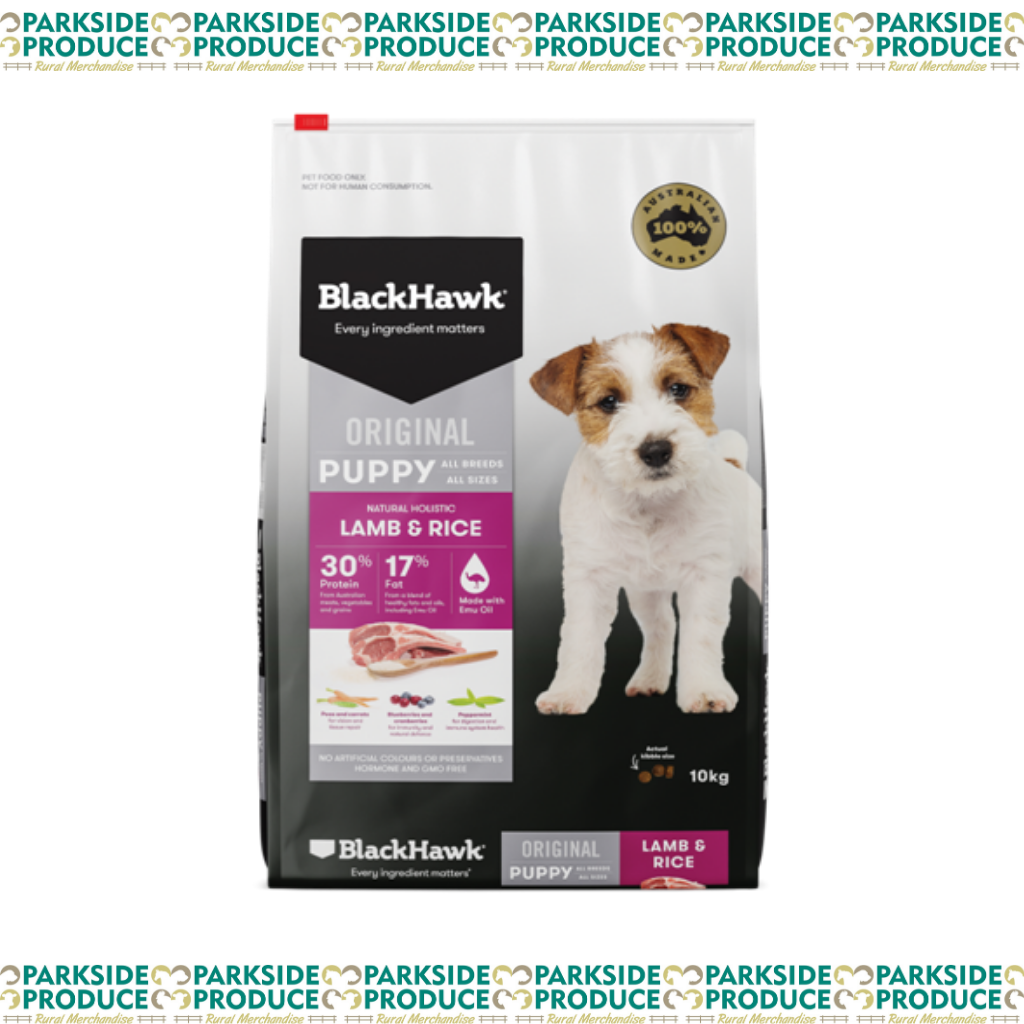 Blackhawk Lamb and Rice Puppy 20kg