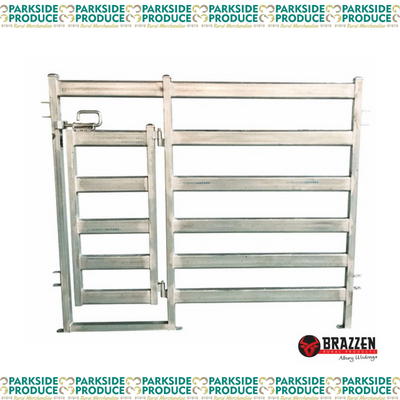 Cattle Panel with Man Gate Standard 2.1m