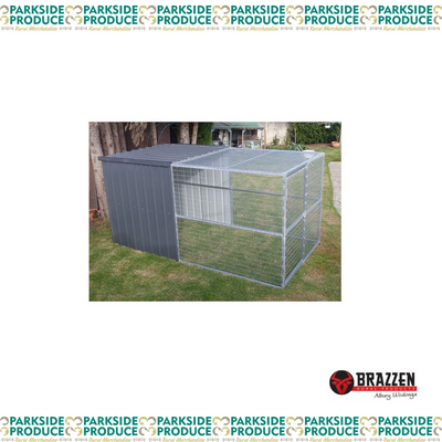 Dog Single/Chicken Enclosure 3500L-2000W-1800H