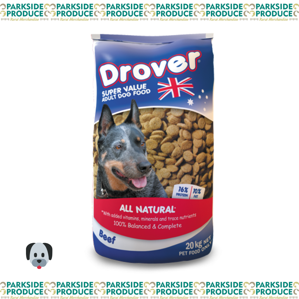 Drover Super Value Dog Food 20kg