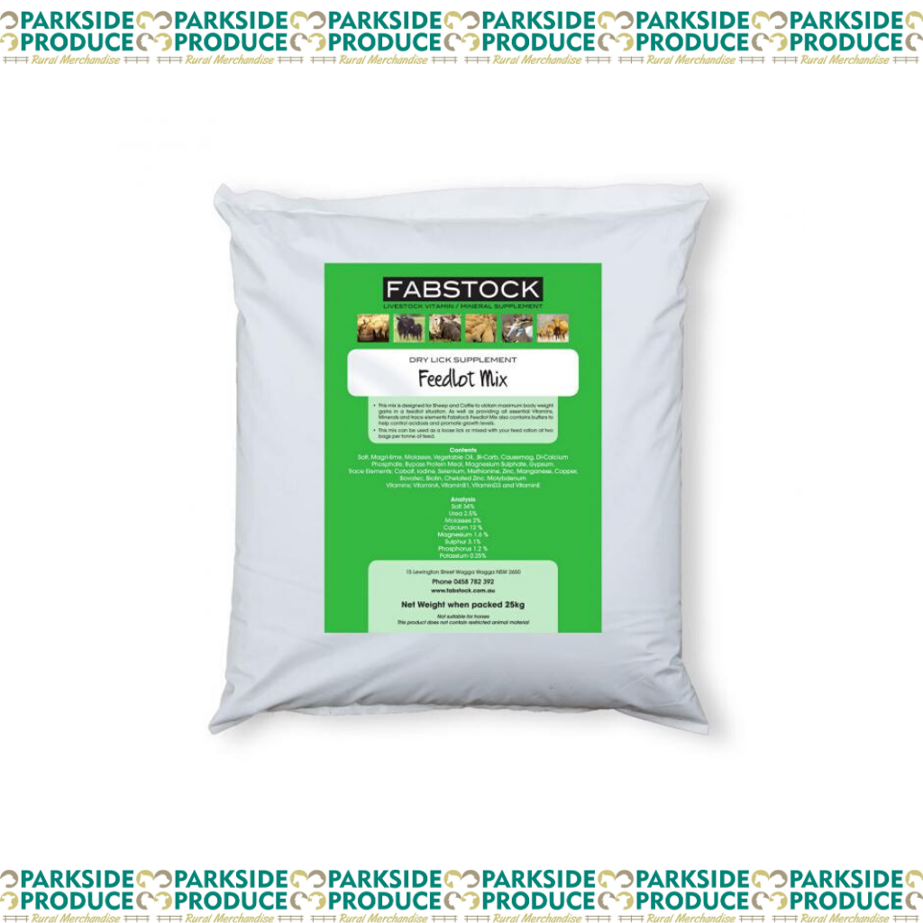 Fabstock Feedlot Mix Bulka
