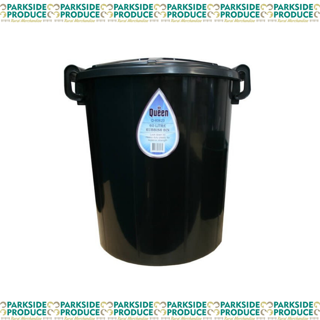 60l Queen Rubbish Bin Plastic !!