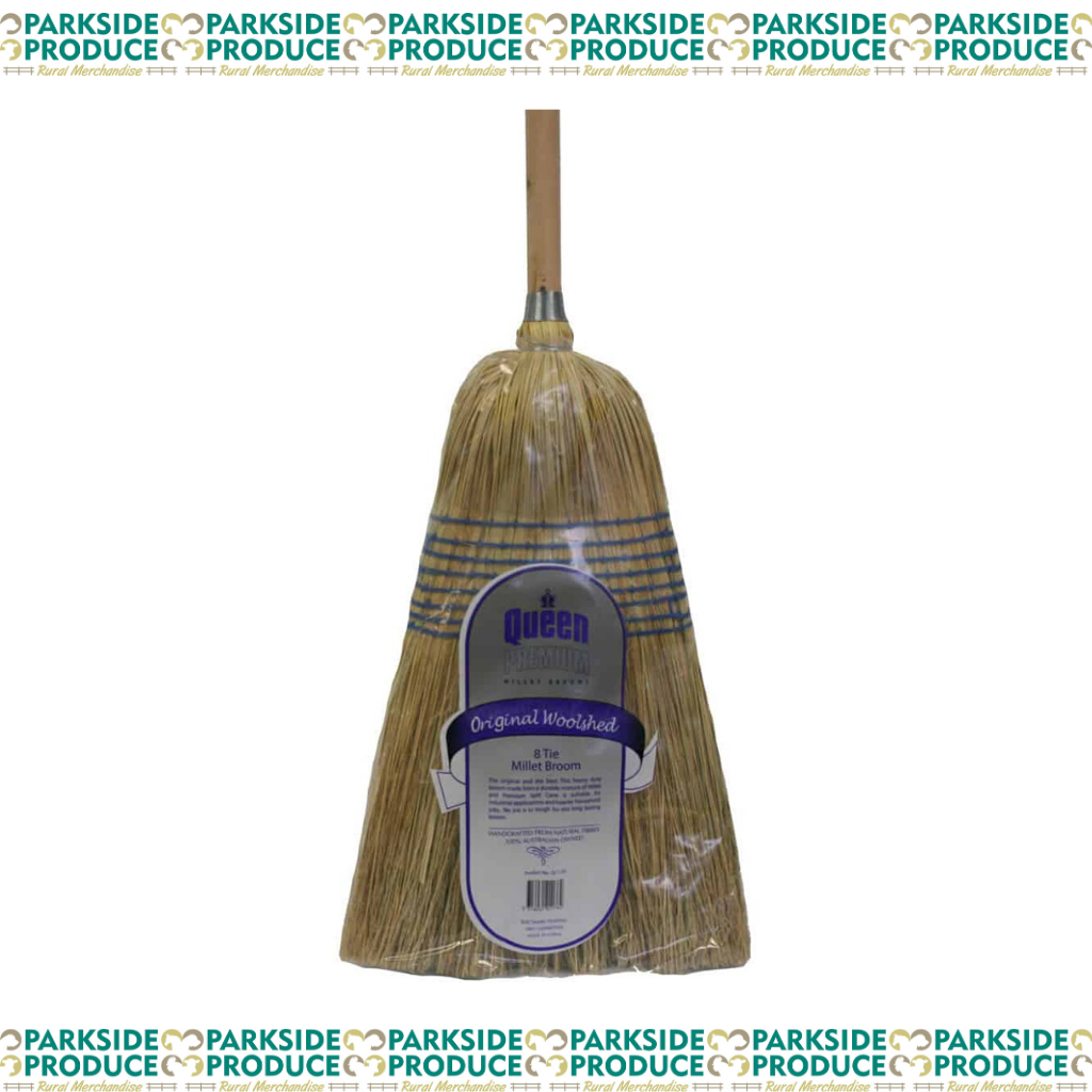 8 Tie Original Woolshed Broom