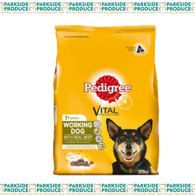 Pedigree Meaty Bites Working Dog 20kg