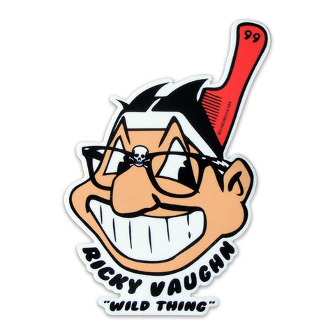 "Ricky Vaughn ""Wild Thing"" Sticker"