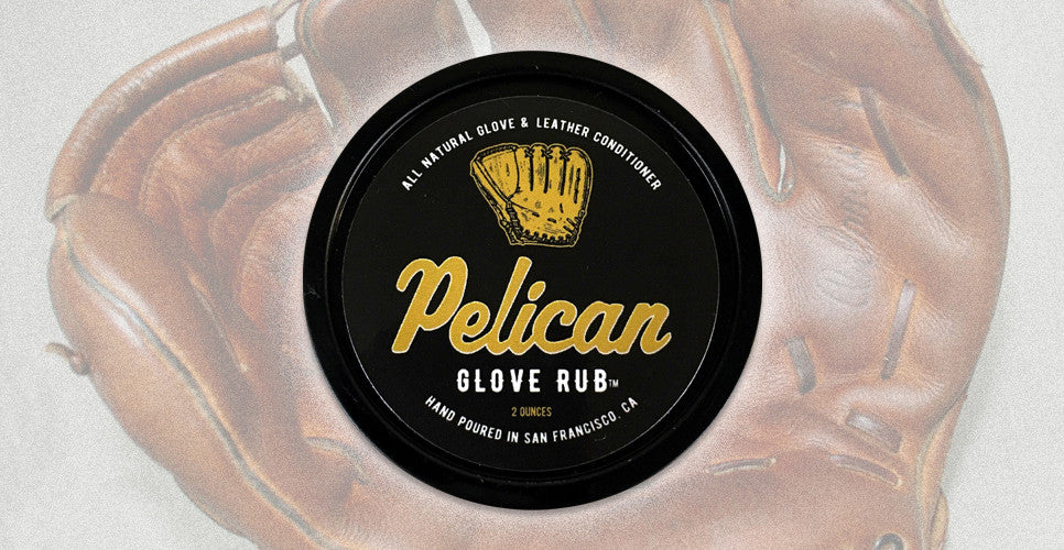 Pelican Bat Wax - Glove Rub All Natural Baseball Glove and Leather Conditioner